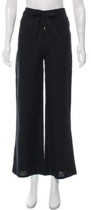 Ulla Johnson High-Rise Wide-Leg Pants