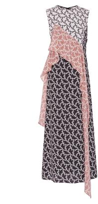 Diane von Furstenberg Sleeveless Ruffle Dress $498 thestylecure.com