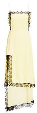 3.1 Phillip Lim Women's Layered Satin Midi Apron Dress
