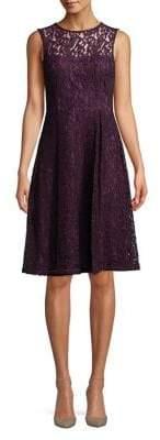 Calvin Klein Sleeveless Lace Dress
