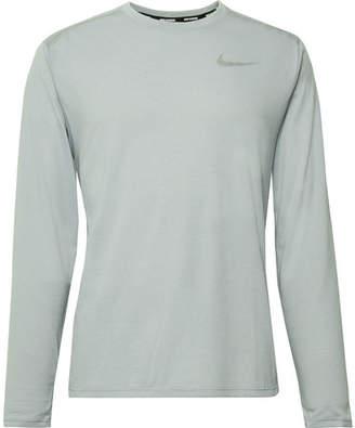 Nike Running Rise 365 Mesh-Panelled Dri-Fit T-Shirt