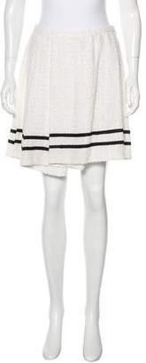 RED Valentino Tweed Mini Skirt
