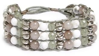 Women's Treasure & Bond Three-Row Beaded Bracelet $39 thestylecure.com