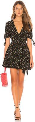 LPA Mini Wrap Dress