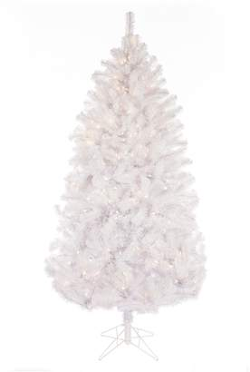 Sterling 7-ft. Light-up Montana Pine Artificial White Christmas Tree