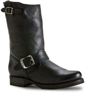 Frye Veronica Leather Mid-Calf Boots