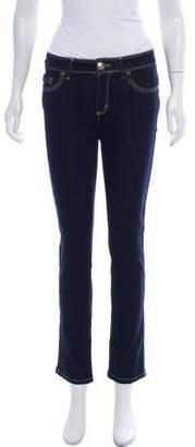 Blumarine Mid-Rise Jeans