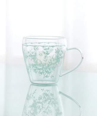 Afternoon Tea (アフタヌーン ティー) - Afternoon Tea LIVING 線画フラワー柄耐熱ガラスマグカップ