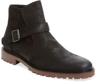 Co Millburn Waxed Suede Harness Boot