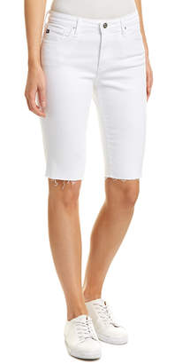 AG Jeans The Brooke White Bermuda Short
