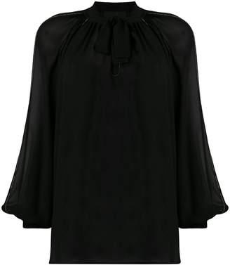 John Richmond sheer blouse