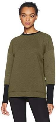 Core 10 Women's Motion Tech Fleece Relaxed Fit Long Sleeve Crew Sweatshirt