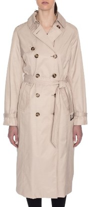 Women's Tahari Lauren Long Hooded Trench Coat $129.90 thestylecure.com