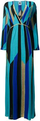 M Missoni printed knit maxi dress