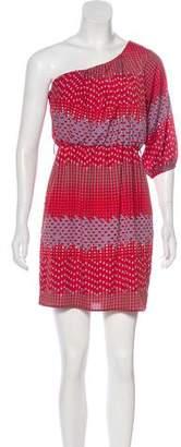 Needle & Thread Printed One-Shoulder Dress