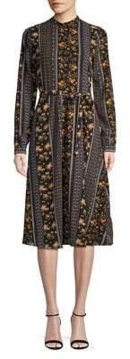Vero Moda Floral Long-Sleeve Dress