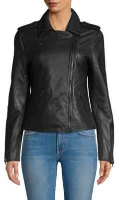 Badgley Mischka Classic Leather Jacket