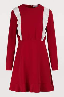 RED Valentino Long-sleeved mini dress