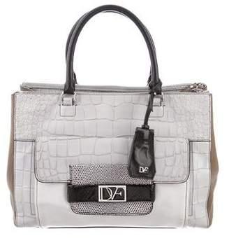 Diane von Furstenberg Color Block Eva Bag