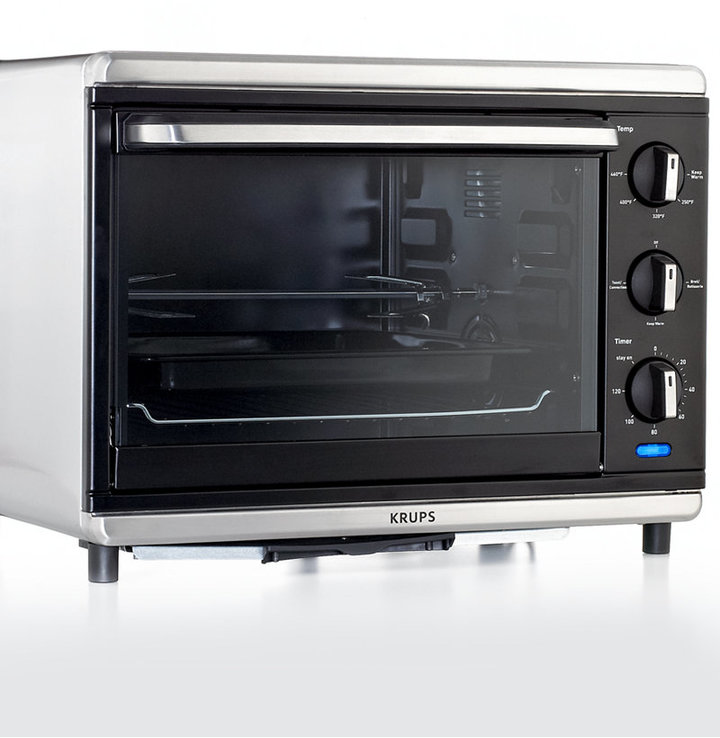 Krups TO740D50 Definitive Series Stainless Steel Convection Oven with Rotisserie