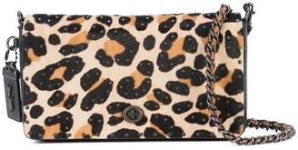 Coach leopard print Dinky bag
