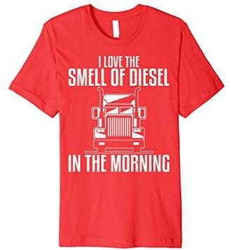 Diesel I Love The Smell of In The Morning Tshirt