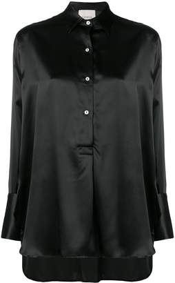 Laneus high-low hem shirt