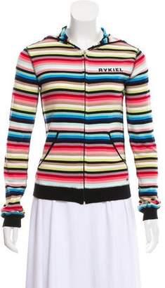 Sonia Rykiel Striped Zip-Up Jacket