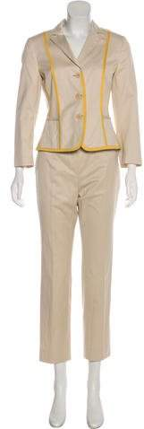 Akris Punto High-Rise Straight-Leg Pant Suit
