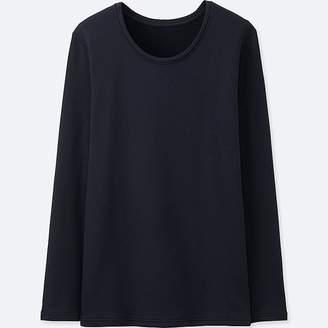 Uniqlo Women's Heattech Ultra Warm Crewneck T-Shirt