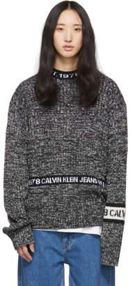 Calvin Klein Jeans Est. 1978 Black Crewneck Sweater
