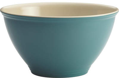 Wayfair Melamine Garbage Bowl in Agave Blue by Rachael Ray