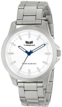 Vestal Unisex HEI3M08 Heiloom Analog Display Japanese Quartz Silver Watch