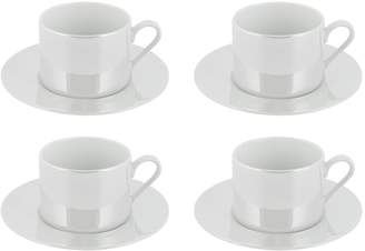 LSA International Pearl Cup & Saucer - Set of 4