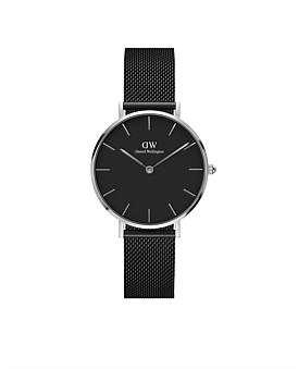 Daniel Wellington Petite 32 Ashfield S Black