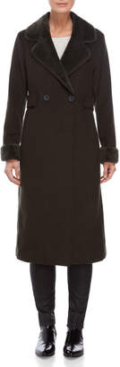 Lauren Ralph Lauren Black Long Wool Coat
