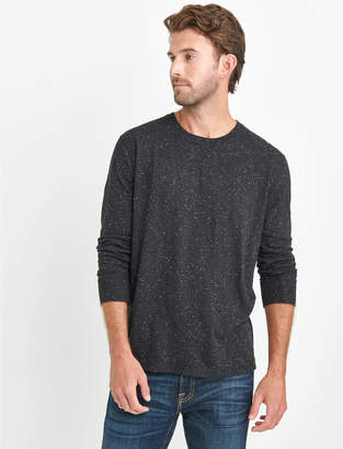 Lucky Brand LONG SLEEVE NEPS CREW