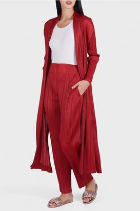 Pleats Please Issey Miyake Monthly Colors Straight Leg Trousers