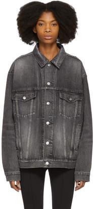 Balenciaga Grey Denim Jacket