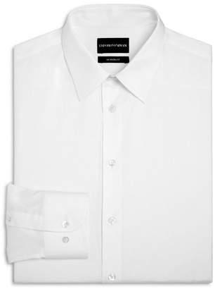 Emporio Armani Twill Basic Regular Fit Dress Shirt