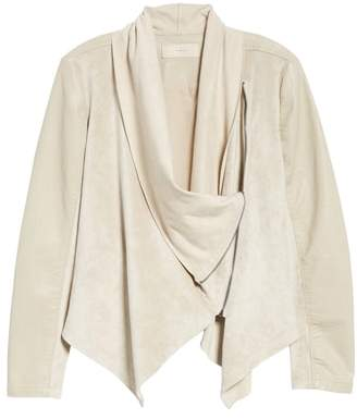 Blank NYC BLANKNYC Drape Front Jacket