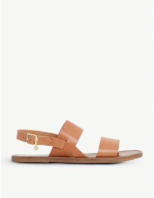 Dune Lowpez leather sandals