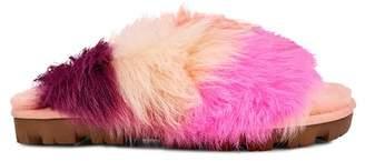 UGG Shag It Crazy Fur Slide Sandal