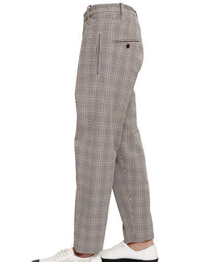 Christophe Lemaire 17.5cm Cotton Seersucker Pants