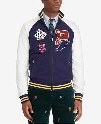 Polo Ralph Lauren Men's Big & Tall Cotton Interlock Track Jacket