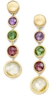 Marco Bicego Jaipur Semi-Precious Multi-Stone& 18K Yellow Gold Drop Earrings