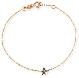 Kismet by Milka Struck Champagne Diamond Station Bracelet in 14K Rose Gold