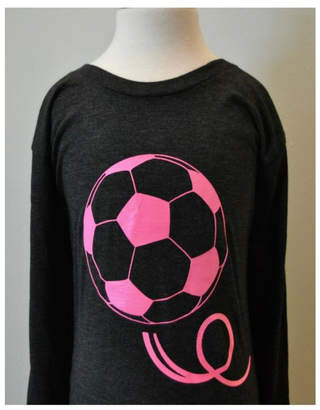 Canvas Grey/pink Soccer T-Shirt