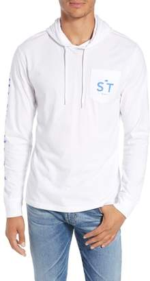Southern Tide Wave Hooded T-Shirt