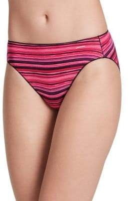 Jockey No Panty Line Promise Striped Bikini Panty